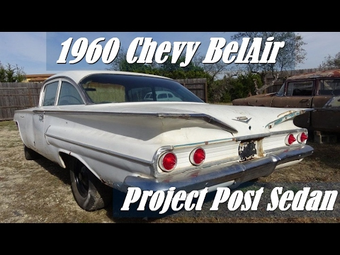 1960 Chevy BelAir Post V8 Sedan project car with Samspace81