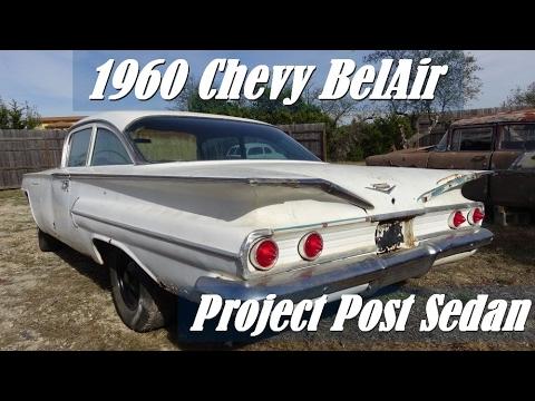 1960 Chevy BelAir Post V8 Sedan project car with Samspace81