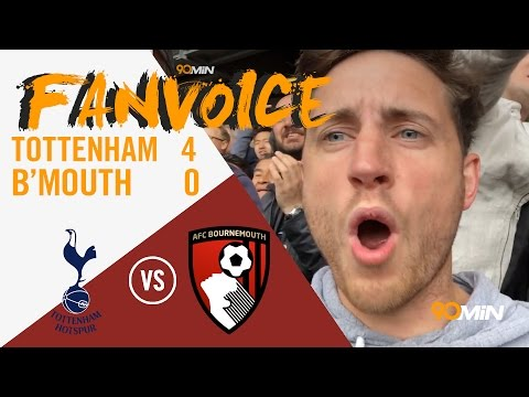 Spurs batter Bournemouth 4-0 Kane back in the goals with Janssen, Son and Dembele |90min FanVoice