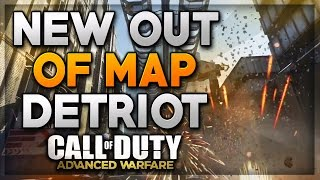 "Call Of Duty Advanced Warfare Jump Spot - ""Detroit Out Of Map Glitch"" After All Patches! (COD AW)"