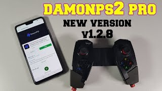 DAMONPS2 Pro Emulator New Version/Updates/v1.2.8 Improved/Speed/Fixed/new features (PS2 games)