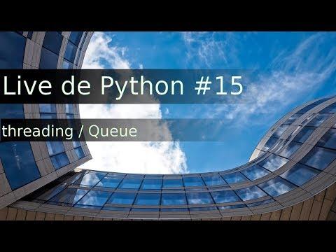 Live de Python #15 - Comunicação entre Threads (Event e Queue)