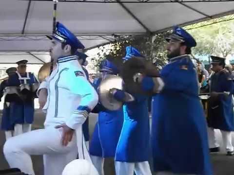 Banda Getúlio Vargas - Entrada. Concurso ABMLinorte 2016