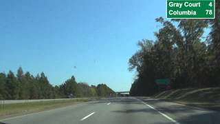 I 385 Greenville County SC MM 30 Through 10