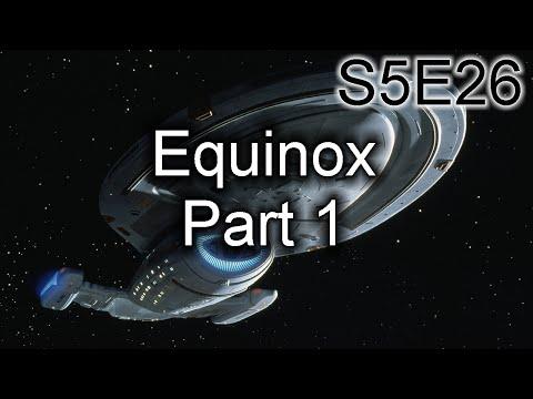 Star Trek Voyager Ruminations: S5E26 Equinox, Part 1
