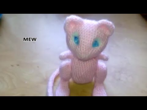 Patrn De Mew Free Pokemon Pattern Amigurumi Youtube