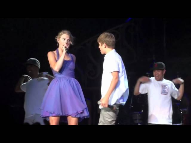 Justin Bieber Taylor Swift Baby Staples Center August 23 2011 Youtube