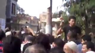جنازة الشهيد محمد غنام بقرية لقانه شبراخيت البحيرة