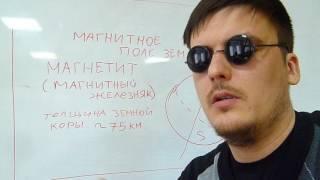 Магнитное поле земли.Физика.школьная программа.просто:)