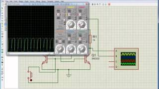 PROTEUS УРОК 10 мультивибратор на транзисторах(Рассматриваем работу мультивибратора на транзисторах., 2016-01-06T06:52:57.000Z)