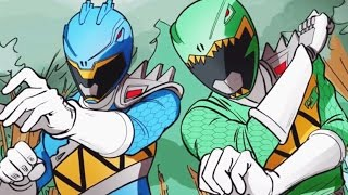 Video Power Rangers Dino Rumble - The Big Sting | Go Go Power Rangers! download MP3, 3GP, MP4, WEBM, AVI, FLV November 2017