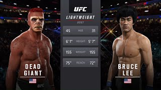 Dead Giant vs. Bruce Lee (EA s