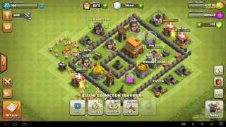 Clash of Clans online live Gameplay #35 [20151007]