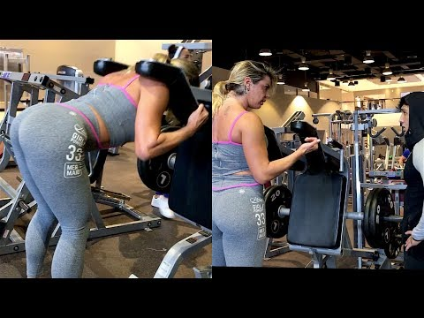 VLOG 153 - DUBAI |  حصة مع  برازيلية | Workout with a Brazilian Girl
