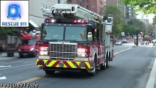 [Montreal fire response] 720 + 203 + 219M + 225 SIM