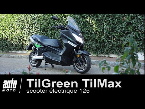 Scooter électrique type 125 TilGreen TilMax ESSAI Auto-Moto.com