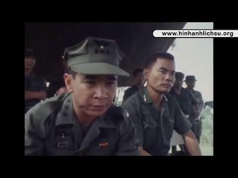 Phim Tài Liệu: Trung tướng VNCH Nguyễn Văn Minh (Minh đờn) thị sát mặt trận tại Cambodia năm 1971