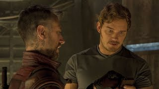 Marvel's Guardians of the Galaxy Vol. 2 -  Deleted Scene: Kraglin and Quill Talk Zune - Marvel NL