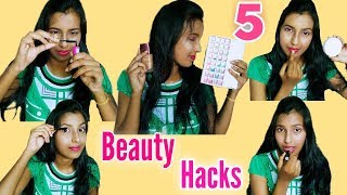 5 Beauty Hacks Evry Girl Should Know || 2018 special
