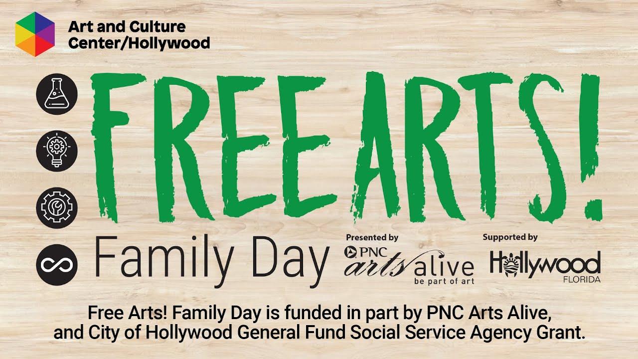 July Free Arts! Family Day Activity Video