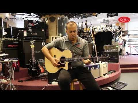 Randall Williams from Kyser Capos at City Music Singapore