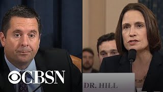 Day 5, Part 6: Devin Nunes and Steve Castor question Fiona Hill and David Holmes