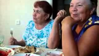 бабушки поют песни, ржач смотреть до конца!!!прикол, смешно