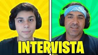 INTERVISTA DOPPIA CON PAPÀ!