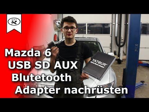 Mazda 6 USB SD AUX Bluetooth Adapter Nachrüsten | USB adapter retrofitting | VitjaWolf | Tutorial