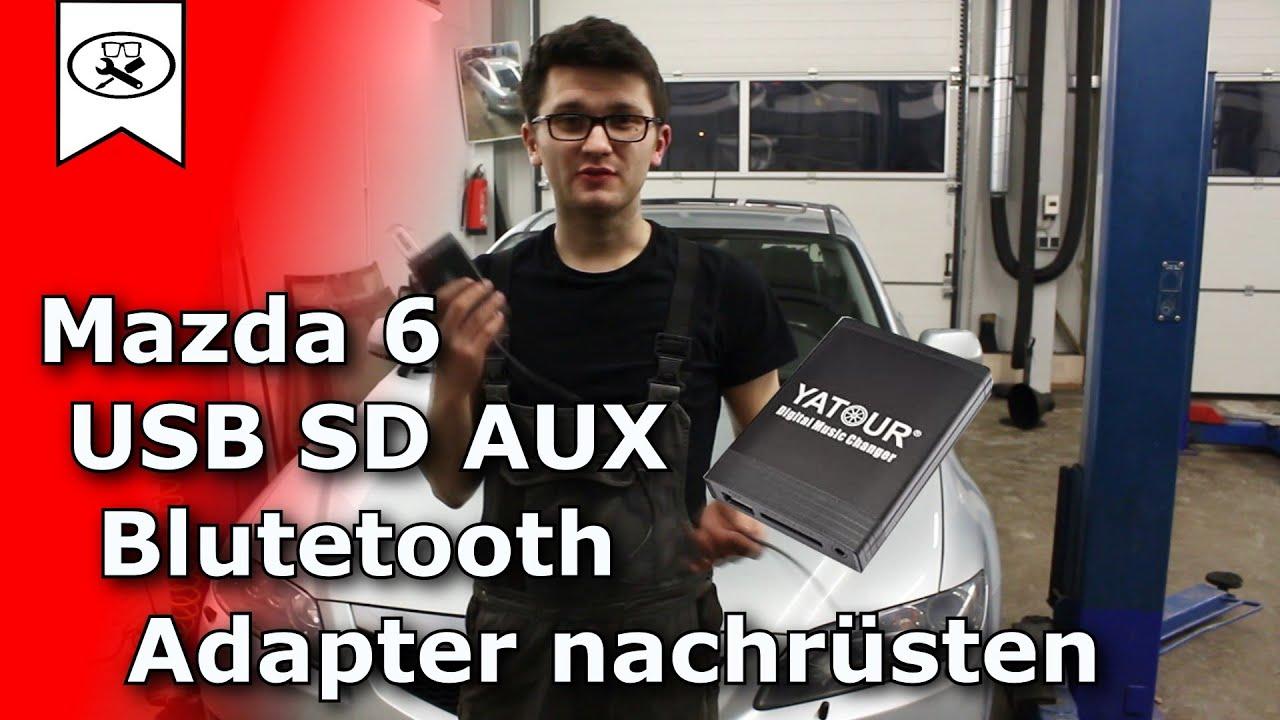 mazda 6 usb sd aux bluetooth adapter nachr sten usb. Black Bedroom Furniture Sets. Home Design Ideas