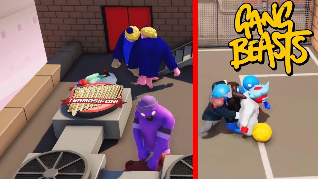 Gang beasts più modalità più divertimento youtube