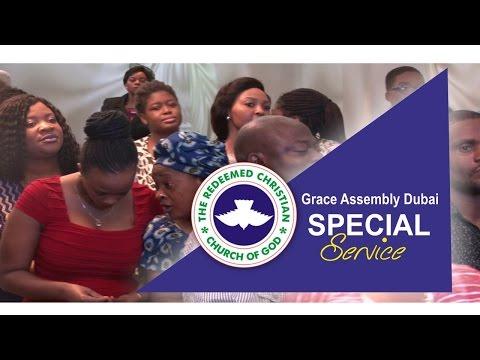 RCCG Grace Assembly Dubai Special Service  MEGA MERCY