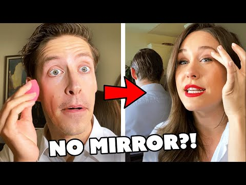 The Try Guys Recreate Their Wives' Makeup Looks