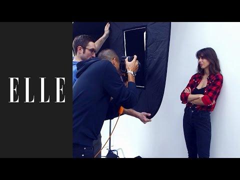 La make-up artist Violette dévoile ses techniques de maquillage pour le Spécial beauté ELLE