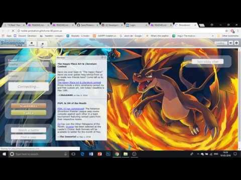 pokemon showdown unblocked games