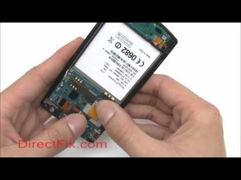 How to: Sony Ericsson Xperia Arc Screen Reassembly