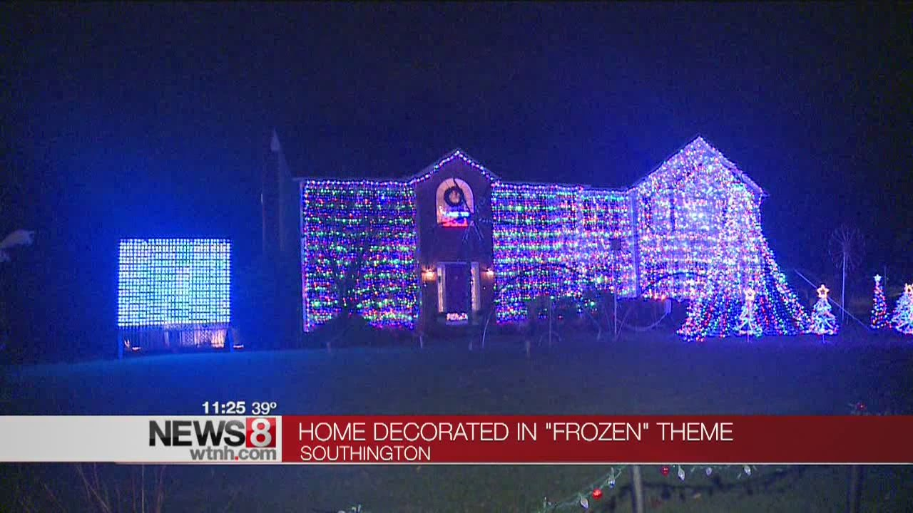 Southington House Synchronizes Holiday Light Show To Disneyu0027s