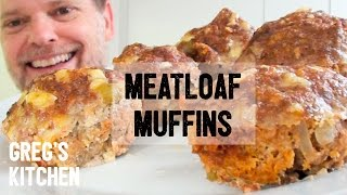 PIZZA MEATLOAF MUFFIN RECIPE - Greg's Kitchen