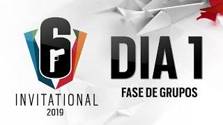 Six Invitational 2019 - Dia 1 (Fase de Grupos)