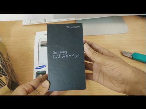 Samsung Galaxy S4 Black Edition Unboxing