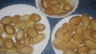 """Приготовление печенья """"Орешки"""".+  STOP-MOTION."""