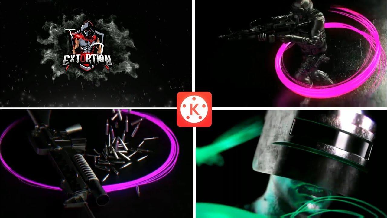 طريقة تصميم إنترو إحترافي في كاين ماستر فقط | intro kinemaster tutorial how make