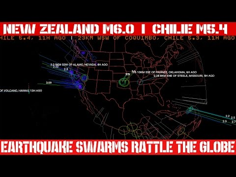 Earthquake Report | June 06, 2016 | Earthquake Swarms Rattle The Globe | New Zealand M6.0