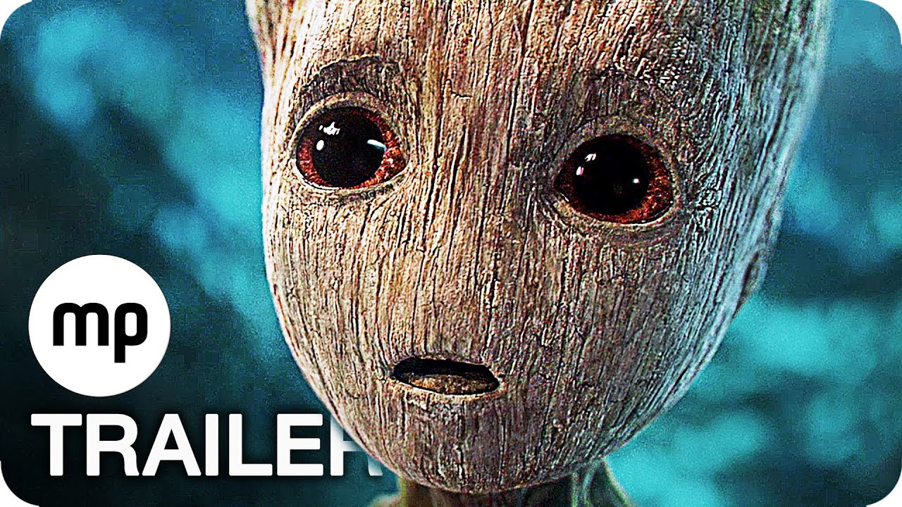 GUARDIANS OF THE GALAXY 2 Trailer 2 German Deutsch (2017)
