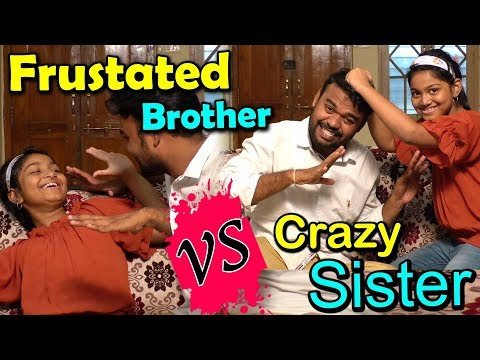 frustrated brother vs crazy sister part 3 I latest comedy short films I funny videos I rectv india