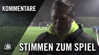 Die Stimmen zum Spiel (SV Empor Berlin – Lichtenrader BC 25, U15 C-Junioren, 3. Runde, Pokal)