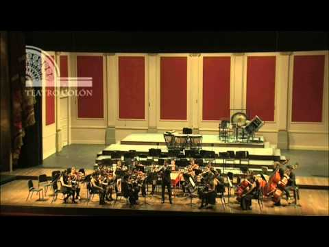 Orquesta Académica del ISA Teatro Colón / Lucas Macías Navarro, Oboe