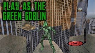 Spider-Man: The Movie - The Game (PC) PLAY AS THE GREEN GOBLIN
