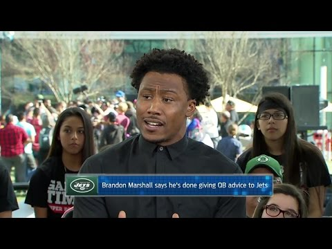 Brandon Marshall on the Jets and Quarterbacks
