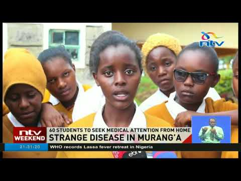 Ihiga secondary school girls suffering from strange disease